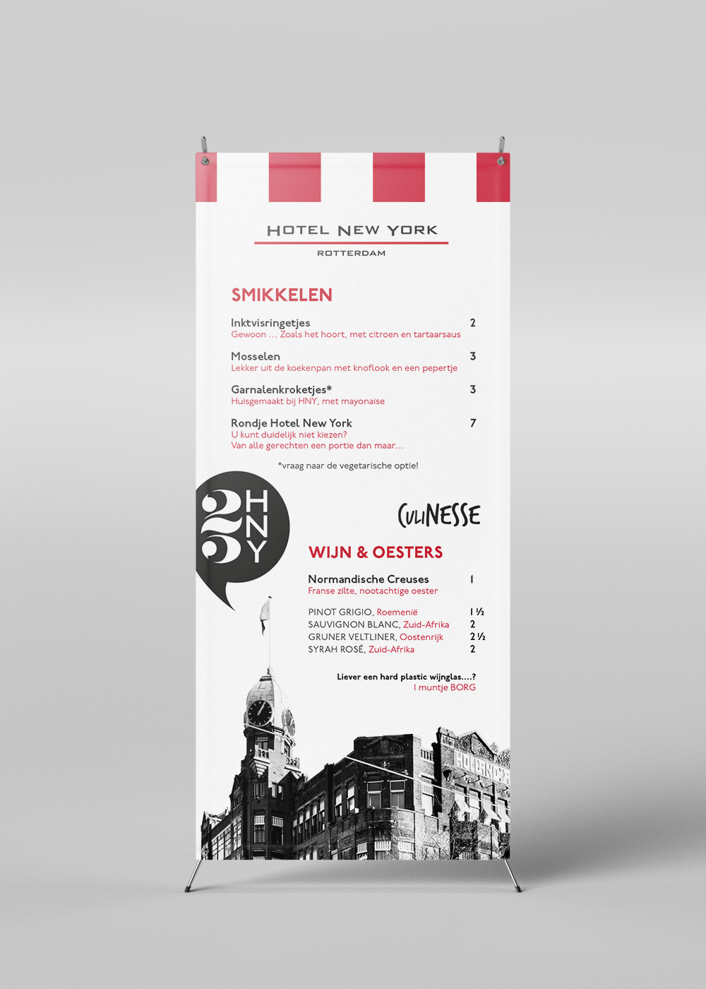Rollup banner Culinesse